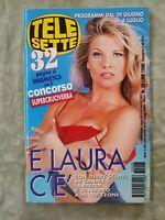 75) TELESETTE ITALIAN MAGAZINE N 26/1997 LAURA FREDDI ROSSELLINI IVA ZANICCHI