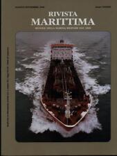 RIVISTA MARITTIMA AGOSTO-SETTEMBRE 2000 ANNO CXXXIII  AA.VV. RIVISTA MARITTIMA