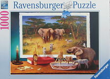 Ravensburger NIGHTTIME VISITORS FROM AFRICA 1000 pc Jigsaw Puzzle Bo Nowell