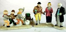 Dept 56 Heritage Village Nicholas Nickelby #59293 Set of 4