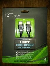 Hype 12ft High-Speed HDMI Cable with Ethernet, NIP (100117)