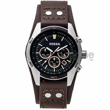 Fossil Authentic Watch CH2891 Brown 44mm Coachman Leather