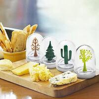 CW_ 4Pcs/Set Kitchen Seasoning Box Spice Storage Bottle Can Salt Jar Novelty