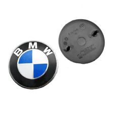 BMW Car 82mm 2 Pins Emblem Chrome Front Badge Logo For BMW Hood