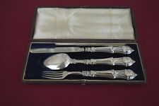 3 - piece Traveling Cutlery Set - Sterling, Cased! RARE!!!
