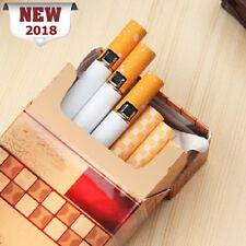 Novelty Windproof Jet Flame Cigarette Shaped Refillable Butane Cigar Lighter GF