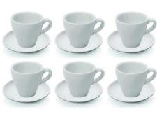 6 Stück Espressotasse und Untertasse, Espresso, Porzellan 0,09 l