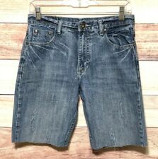 Flypaper Boys Blue Jean Shorts Size 16 Cutoff LBB76