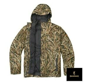 Browning Wicked Wing 4 -1 Waterfowlers Parka Blades Camo Size XL Wildfowling