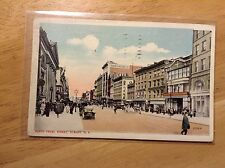North Pearl Street Albany NY Vintage Postcard John G Myers Co Building Cars 1916
