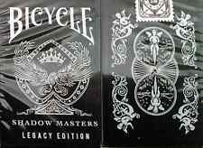 Bicycle Legacy Edition Shadow Masters Playing Cards - Limited Edition - SEALED