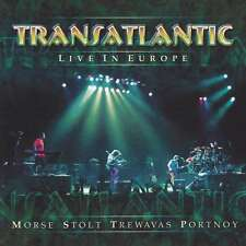 "Transatlantic ""Live In Europe"" (2 CD's, Nov-2003, Metal Blade) - Sealed!!"