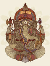 Valentina Ramos - Ganesha - Ready Framed Canvas
