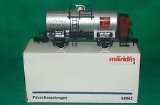 MARKLIN 1 grand modèle wagon citerne GAS-OEL Kesselwagen 58062 + boite OVP