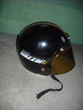 Vintage 1970'S Bombardier Ski-Doo Blizzard Snowmobile Helmet size L, W/ SHIELD.