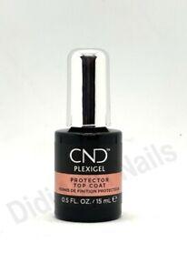 CND PLEXIGEL Protector Top Coat 0.5 fl. oz. / 15mL
