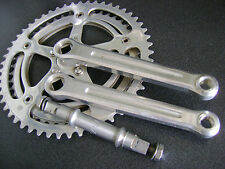 used old style Zeus bicycle crankset 52/45 crankset 170m.m. BSC threads