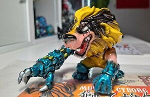 Kagemaru Design X-Men Wolverine Murder Cyborg Lion Sofubi Soft Vinyl Toy Funko