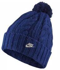 Women's Nike Sportswear Swoosh Beanie Removable Pom Hat NWT 852163 467