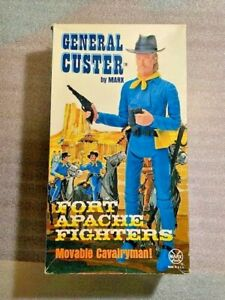 General Custer action figure from Johnny West MARX toys w/ all accessories