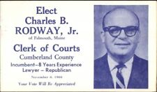 Falmouth ME Clerk of Courts Candidate Charles Rodway Cumberland County PC