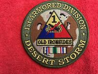 US ARMY 1ST ARMORED DIVISION DESERT STORM PATCH