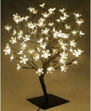 Albero Luminoso Decorativo 60 Cm.   90 Led Lampada Fiori di Ciliegio  colore B.