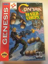 Contra Hard Corps - Sega Genesis - Replacement Case - No Game