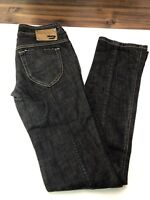 Diesel Rokket Womens Stretch Jeans 008DK Wash Black Size W26 L34 Made In Italy