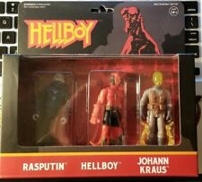 Super 7 Hellboy Reaction Action Figures 3 Pack B