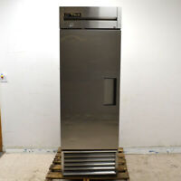 "True T-23 Single-Door 27"" Reach-In Cooler Stainless Commercial Refrigerator"