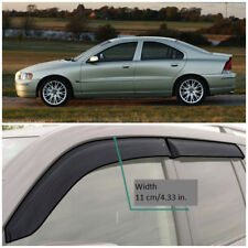 VE11300 Window Visors Guard Vent Wide Deflectors For Volvo S60 I Sd 2000-2009