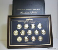 White House Historical Association Presidential Medals 1st Ed Silver Proof Coins