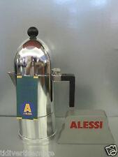 ALESSI -  CAFFETTIERA A9095/3 B-TAZZE 3-ALLUMINIO- aldo rossi