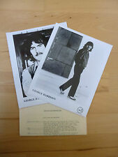 Vintage George Harrison Beatles Somewhere In England Promotional Press Kit 1981