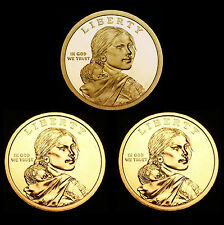 2013 P+D+S Native American Sacagawea ~ Mint Proof Set ~ PD from U.S. Mint Rolls