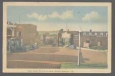 Postcard Carre Dube Riviere Du Loop/CANADA  Business Storefronts view 1930's