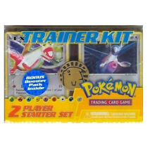 Pokemon EX-Trainer Kit  2 Player Starter Set! Latios/Latias Deck + Booster Pack!