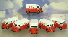 A FLEET OF 6 CORGI EX-LLEDO DAYS GONE DG119 CITROEN H VANS EVIAN MINERAL WATER
