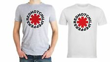 T-SHIRT UOMO RED HOT CHILI PEPPERS MODA COTONE BASIC STAMPA DIGITALEvarie taglie