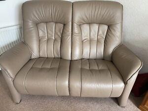 Himolla 2 Seater Leather Sofa
