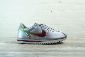 Nike Cortez Deluxe Silver 102243 062 Size UK 9.5 EU 44.5 US 10.5