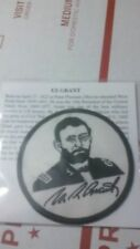 US Grant patch NEW Ulysses S Grant