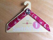 Lindsay Phillips SwitchFlops Straps - Pearl - Size M - EUC