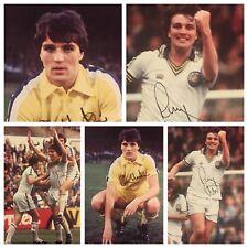 Signé Ray Hankin Leeds United Photo Job Lot x 3