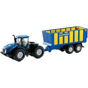 Siku New Holland T9.560 Tractor with Trailer 1:50 Scale Diecast Metal 1947