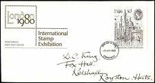 Gb Fdc 1980 London Stamp Exhibition Cambridge Fdi #C35314