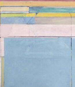 Ocean Park 116 1979 Richard Diebenkorn Abstract Metallic Print Poster 11x14