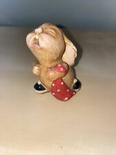 """vintage Pendelfin Bunny made In England """"Barney� crying Rabbit Hand-painted"""