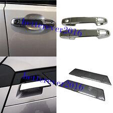 6pcs Chrome Front + Rear Door Handles Cover Trim for Toyota C-HR CHR 2016-2019